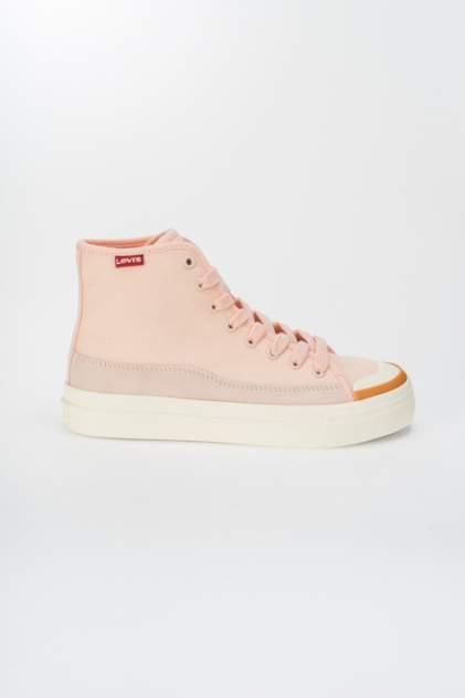 Кеды женские, Levi's 38374-0251, розовый