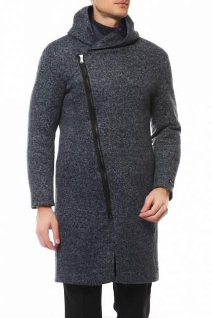Пальто мужское MISTEKS DESIGN 31961 синее 48-176