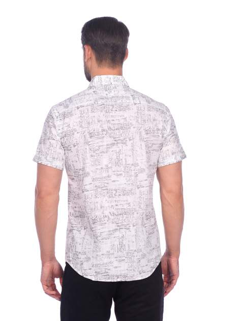 Рубашка мужская DAIROS GD81100405 белая L