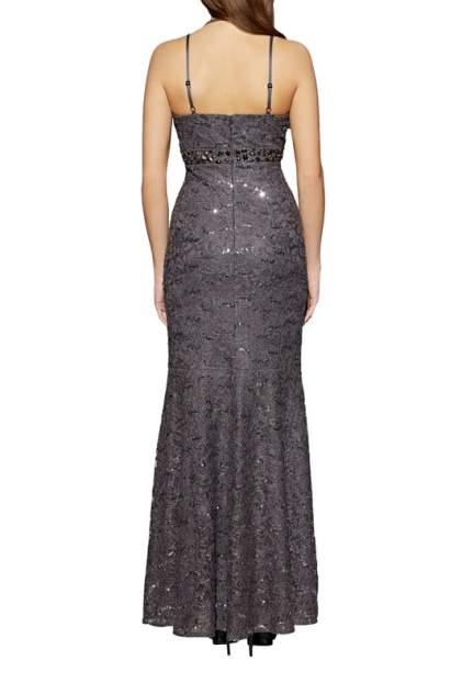 Вечернее платье женское Apart 61114 серое 34