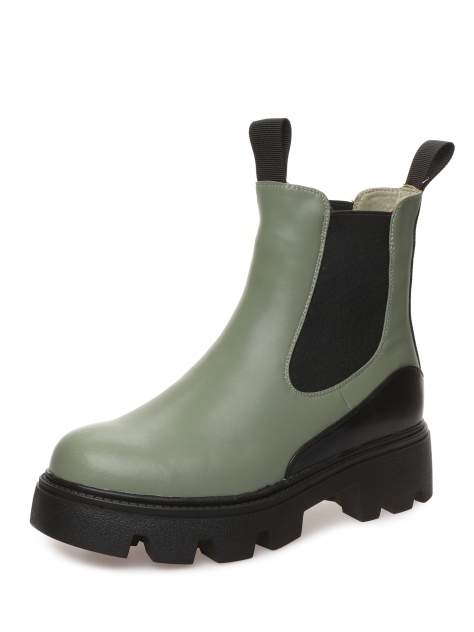 Ботинки женские MAKFINE 52MK-50-01A7HA, зеленый