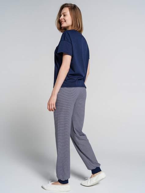 Пижама женская ТВОЕ 77093 синяя XL