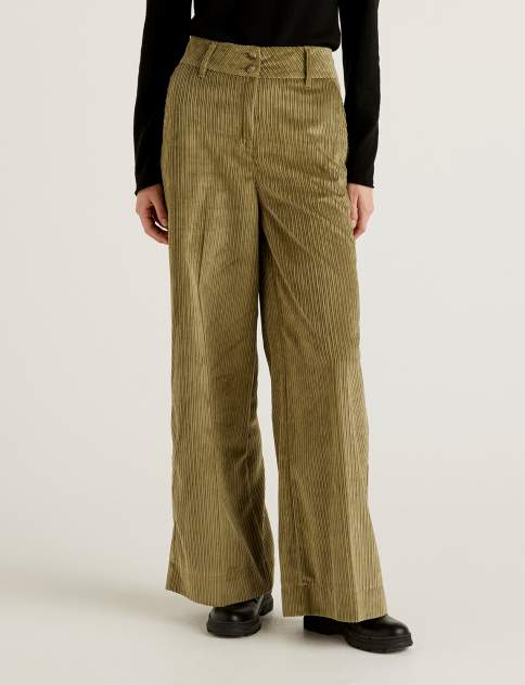 Женские брюки United Colors of Benetton 21A_4NIA559O4, зеленый
