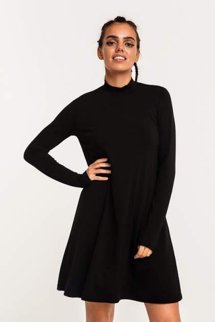 Платье-водолазка женское befree 2111230542 черное XS