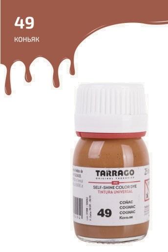 Краситель для всех видов гладких кож Tarrago COLOR DYE 25мл TDC01/049 коньяк