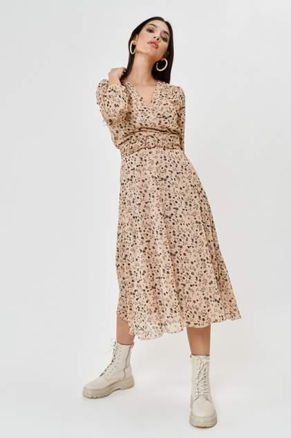 Повседневное платье женское Vittoria Vicci М1-20-2-0-00-52169-1 бежевое XS