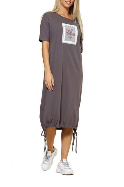 Повседневное платье женское KIDONLY КУП-015ПЛ/ серое 48-170