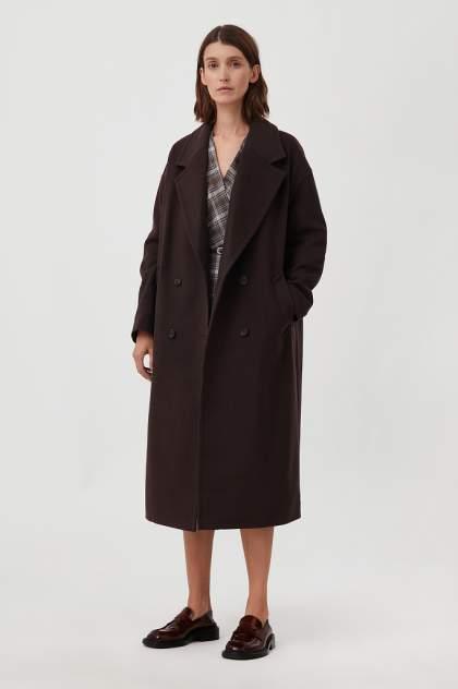 Женское пальто Finn Flare FAB11041, коричневый