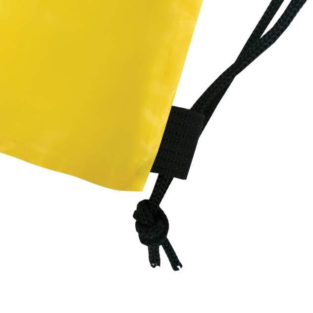 Мешок для обуви Brauberg на шнурке желтая 42x33 см