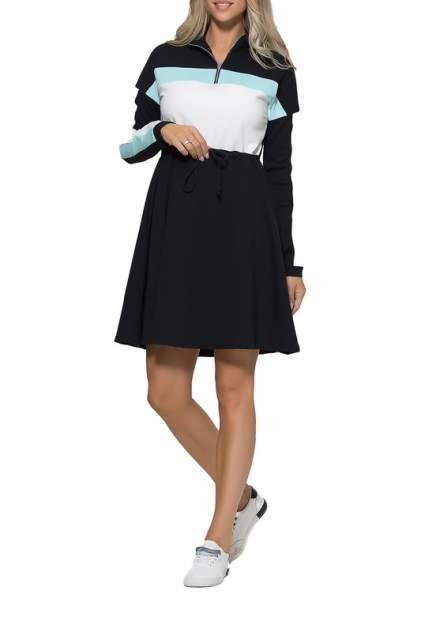 Повседневное платье женское KIDONLY КУП-022КС/ черное 50-170
