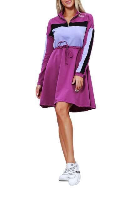 Повседневное платье женское KIDONLY КУП-022КС/ фиолетовое 42-170