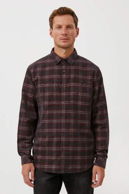 Рубашка мужская Finn Flare FAB21010, серый