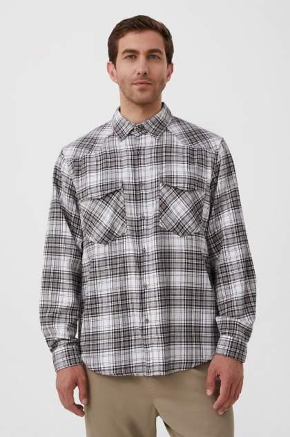 Рубашка мужская Finn Flare FAB21055, серый