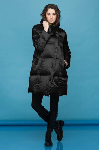 Пуховик-пальто женский Conso WDM 200510 черный 42