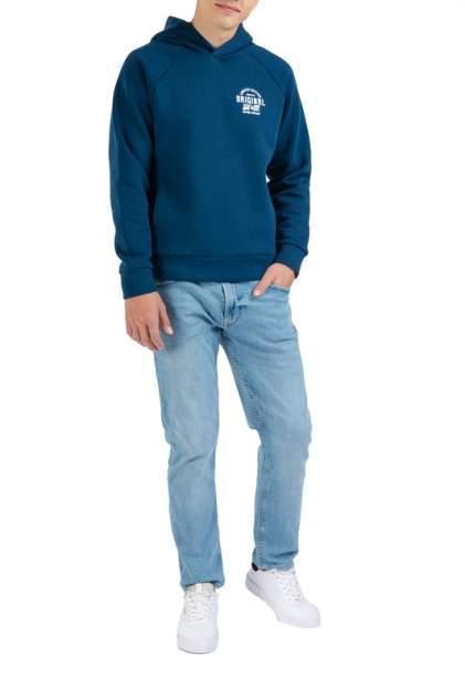 Худи мужское FORTE 112.070099 синее 2XL-182