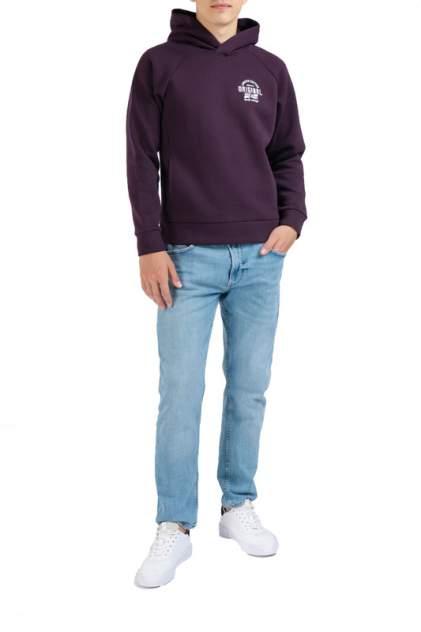 Худи мужское FORTE 112.070099 фиолетовое 2XL-182