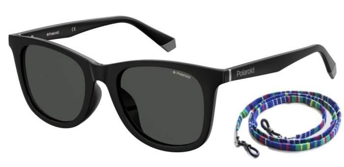 Солнцезащитные очки унисекс Polaroid PLD 6112/F/S BLACK