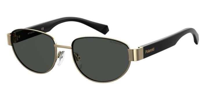 Солнцезащитные очки унисекс Polaroid PLD 6123/S GOLD BLCK