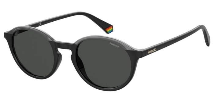 Солнцезащитные очки унисекс Polaroid PLD 6125/S BLACKGREY