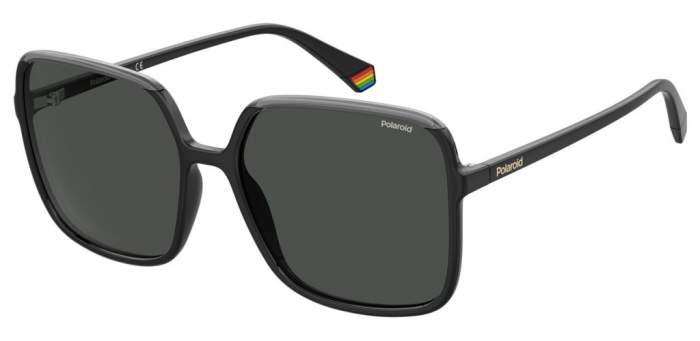 Солнцезащитные очки женские Polaroid PLD 6128/S BLACKGREY