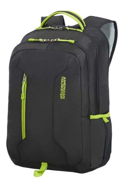 "Рюкзак для ноутбука унисекс American Tourister 24G-29004 15.6"" black, lime green"