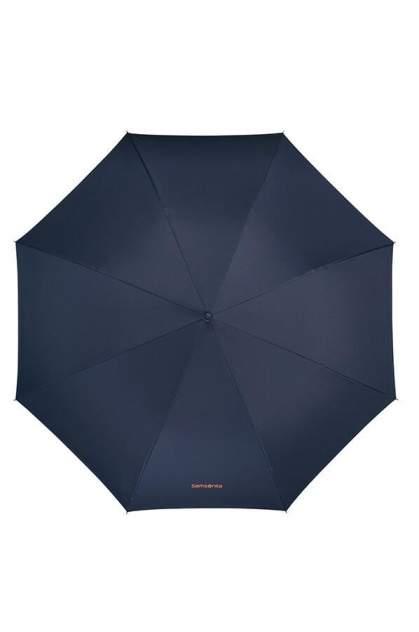Зонт унисекс Samsonite CJ7-01002 dark blue, mandarin orange