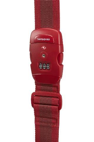 Ремень багажный Samsonite CO1-00057 красный