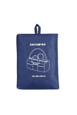 Дорожная сумка унисекс Samsonite CO1-11033 синяя, 70х26х36 см