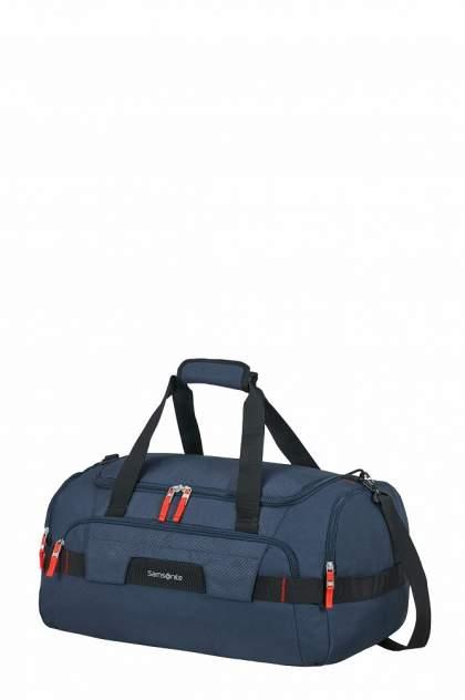 Дорожная сумка унисекс Samsonite KA1-01006 синяя, 55х32х32 см