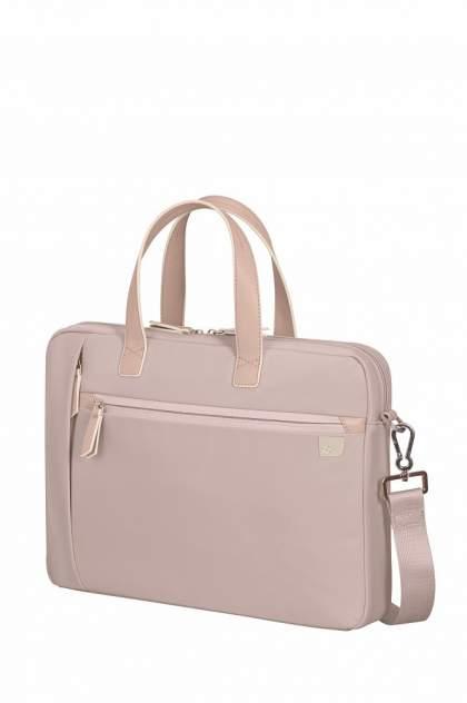 "Сумка для ноутбука унисекс Samsonite KC2-58001 15.6"" розовая"