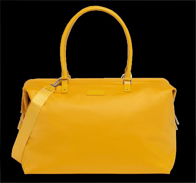 Дорожная сумка женская Lipault P51-45303 желтая, 45x32x21 см