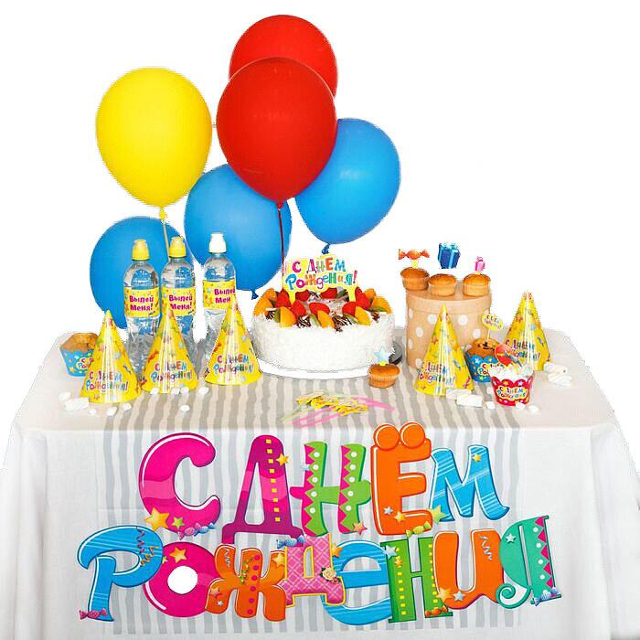 """Набор для оформления праздника """"Яркий День Рождения"""" Страна Карнавалия"""