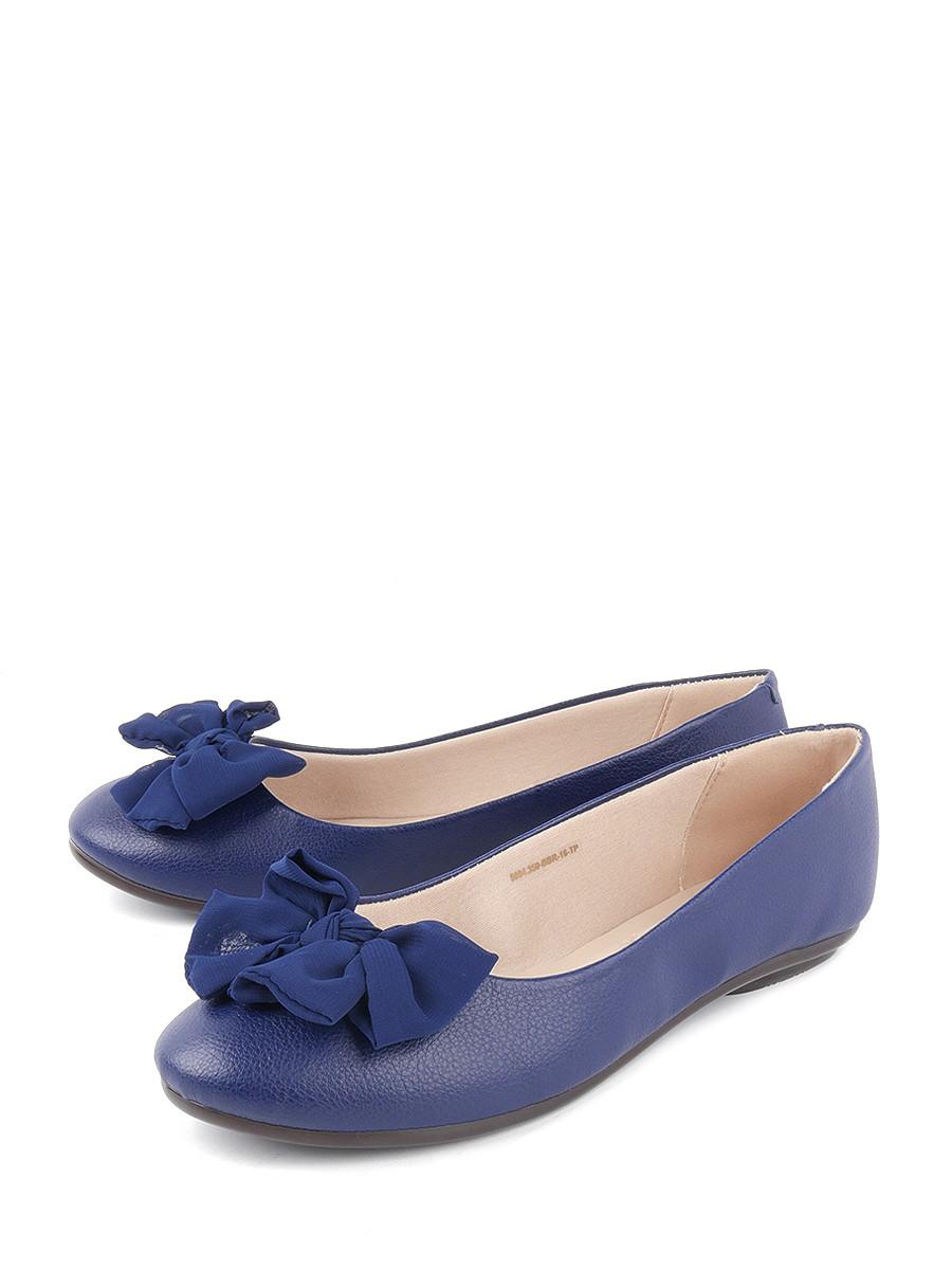 Балетки женские Moleca 5094.350-BBR-16-TP синие 40 RU фото