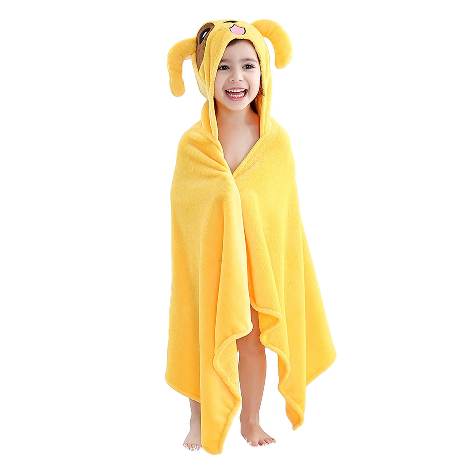 Купить Детское полотенце с капюшоном Baby Fox Щенок, цвет желтый, 60х120 см,