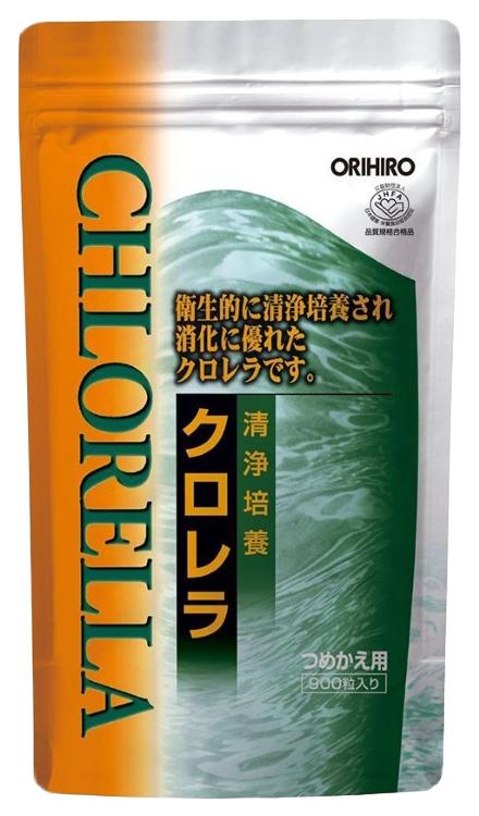 Купить Орихиро Хлорелла таблетки №900, ORIHIRO