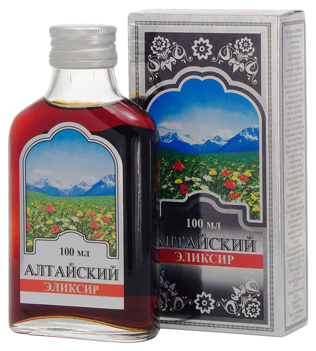 Алтайский эликсир раствор оралн спирт фл 100 мл N1