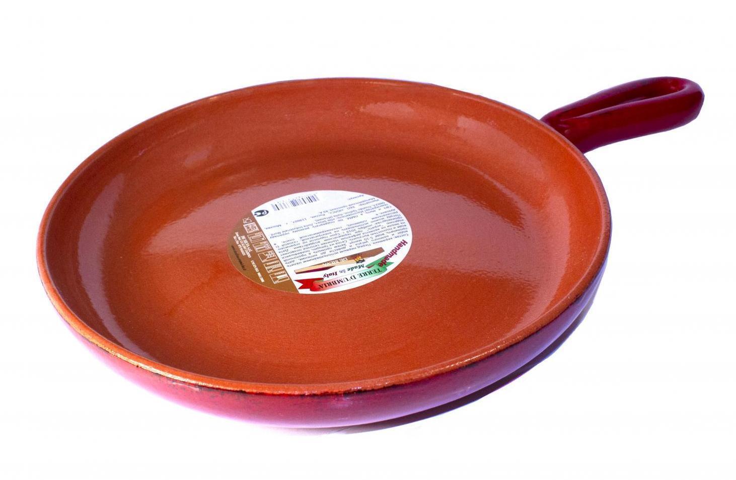 Керамическая сковорода De Silva Дистресст ред 26,5
