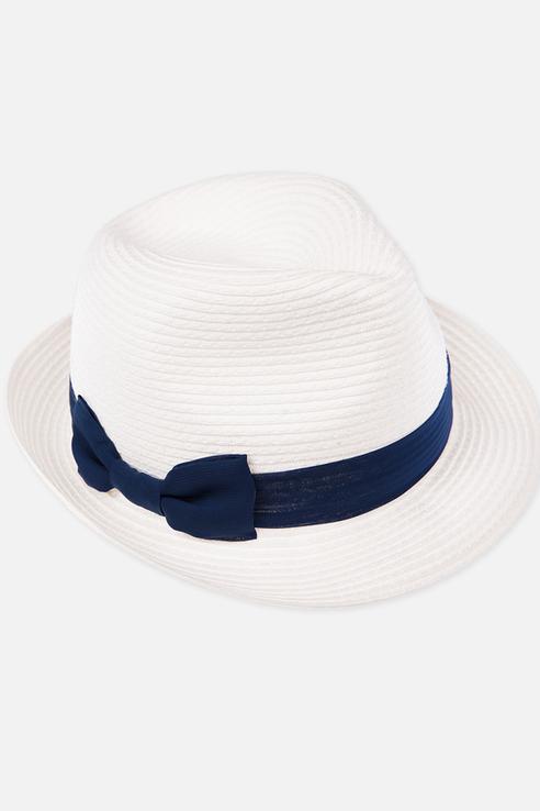 Шляпа детская Play Today, цв. белый р-р 56 220121053