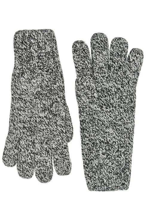 Перчатки для мальчиков Gulliver, цв. серый р.16