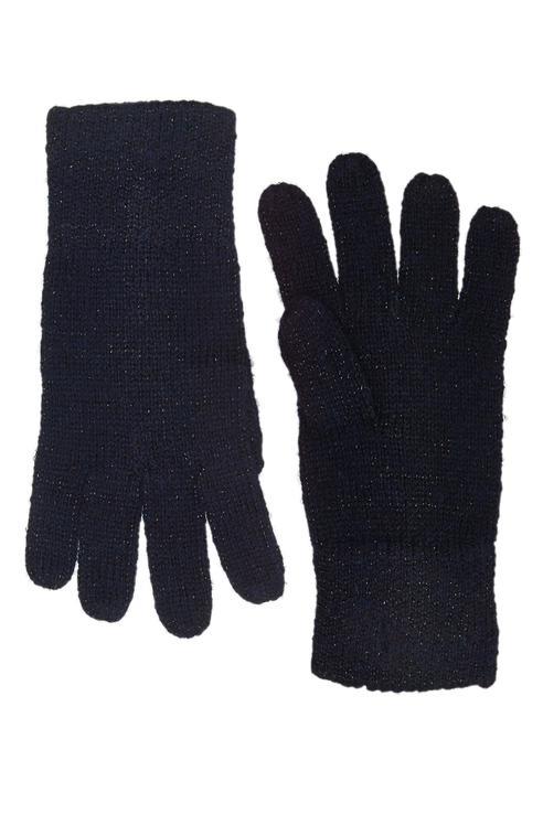 Перчатки для девочек Gulliver, цв. синий р.14
