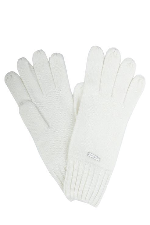 Перчатки для девочек Gulliver, цв. белый р.18