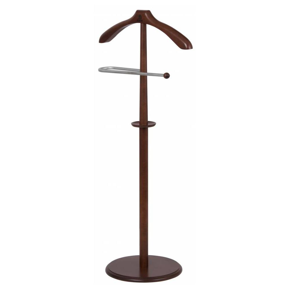 Вешалка костюмная Мебелик В 25Н Средне коричневый