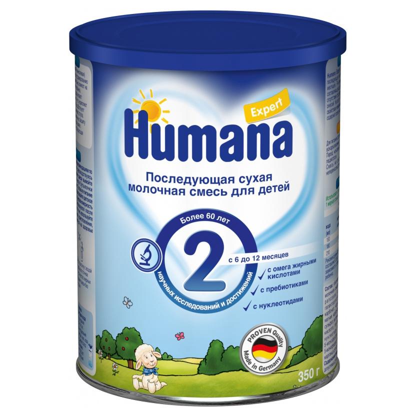 Молочная смесь Humana Expert 2 от 6 до 12 мес. 350 г фото