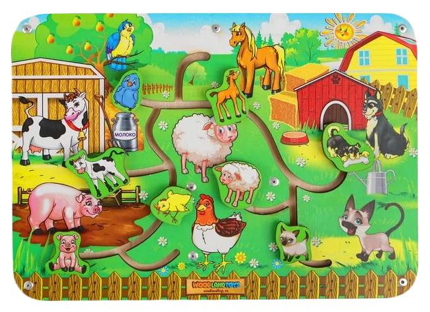 Купить Игрушка-лабиринт Пара - Животные-1 Woodland (Сибирский сувенир), Игрушки головоломки