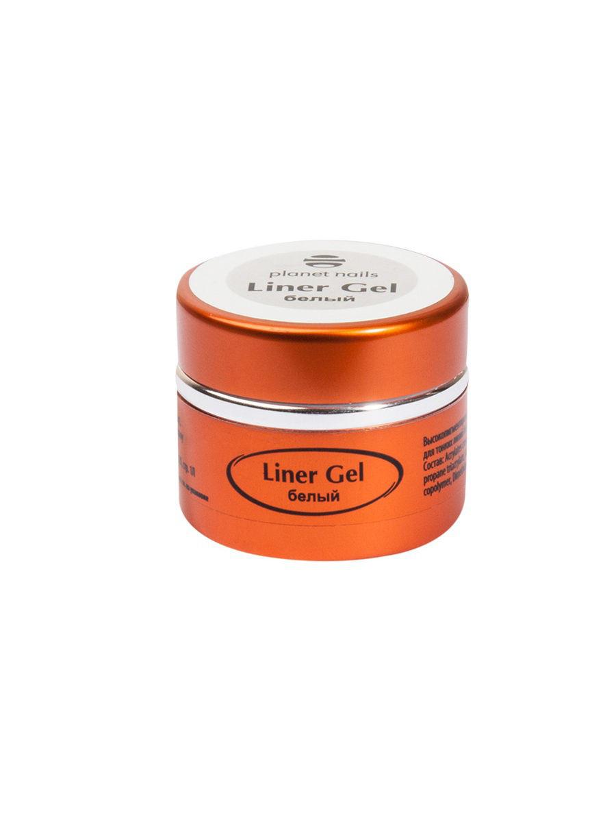 Купить Гель-краска для тонких линий Planet Nails Liner Gel белая 5г