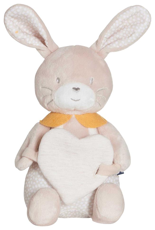Купить CANDIDE Мягкая игрушка ЗАЙЧИК с сердцем 32х22х11 см 314892, Мягкие игрушки животные