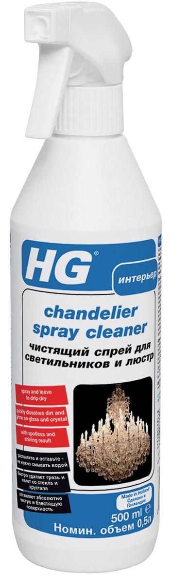 Спрей HG чистящий для светильников и люстр
