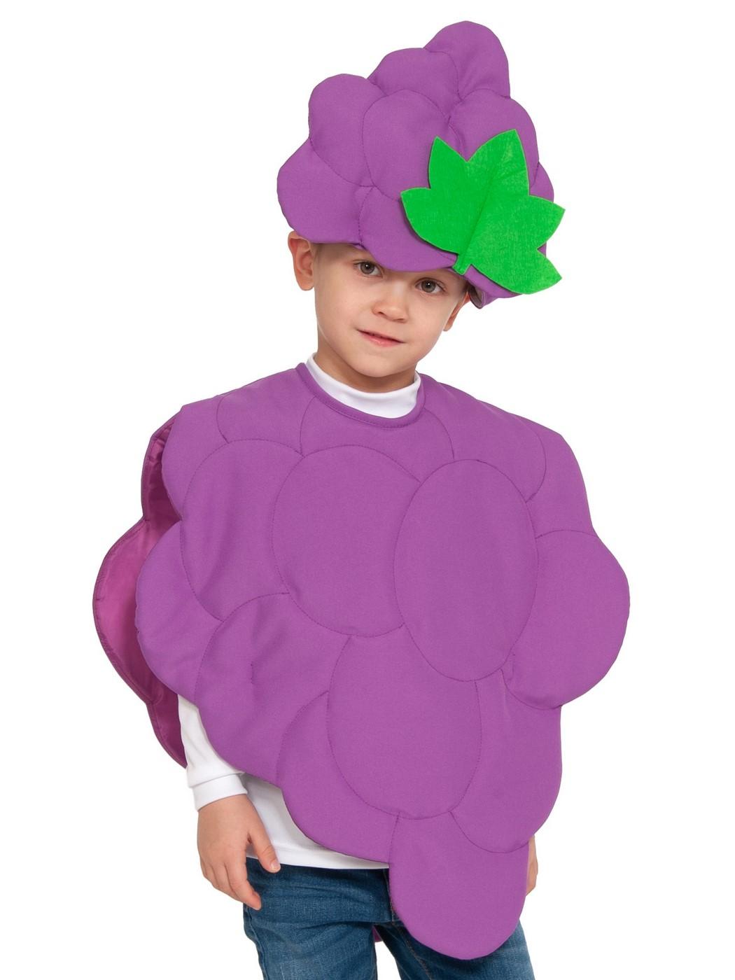 Карнавальный костюм Карнавалофф Овощ, цв. фиолетовый р.104