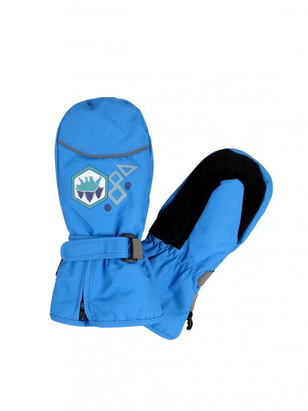 Варежки детские Reike Grizzly blue, RW20-GRZ blue, 6 /7 лет/ 13 см