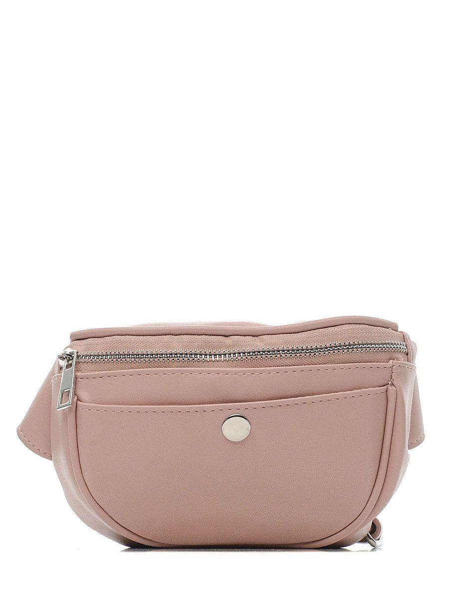Поясная сумка женская Modis M201A00729R004ONE розовая